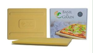 Pizza stone /Basil & Grain Rectangular Baking Stone 17x14