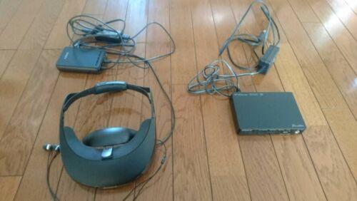 "Sony [wireless correspondence] head mount display ""Personal 3D Viewer"" HMZ-T3W"