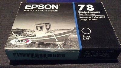 New Epson T078120 Claria HD 78 Standard Capacity Inkjet Cartridge Black ()
