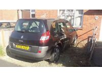 7 seater Renault Grand Scenic 2.0 VVT 136 Dynamique 2005 55 plate