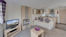 Stylish luxury caravan holiday home furnished Doubke Glazed and gas central heated
