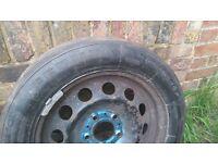 16`BMW Metal Wheels with Nearly New FEDIMA Slick Tyres