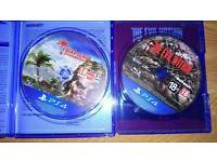 Dead island definitive edition and the evil within ps4 games