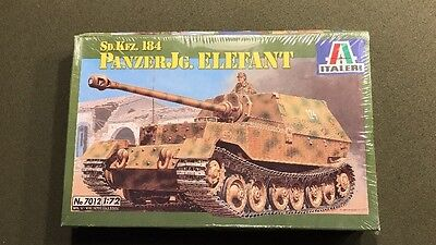 1/72 Sd. Kfz. 184 Panzerjäger Elefant Italeri MODEL KIT 7012