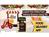 Start An Online Food Delivery Business Like Just Eat or Uber Eats.