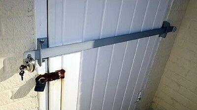 Heavy Duty Lock Bar Garden Shed Factory Garage & Office Door Security 1000mm