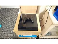 PS4 with controller, headset, 9 games and PS camera.
