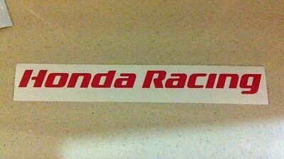 Honda Racing 150mm F1 Car Helmet Decals Stickers BTCC Fireblade RR Civic