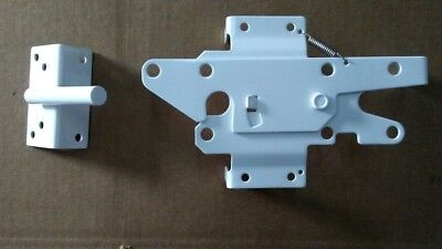 Standard Stainless Steel Gate Latch Lockable Both Sides for PVC/Vinyl (Standard Stainless Steel Gate)
