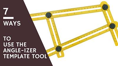 Angle Izer Ultimate Tile Amp Flooring Template Tool Multi