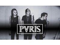Two PVRIS tickets 23/11/2017 o2 academy birmingham