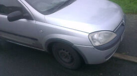 Vauxhall Corsa O/S Front Wing In Silver Colour (2003)