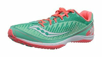 58cd2f974c037 New Saucony Women s Kilkenny XC5 Shoe Cross Country Flat Shoe Green Size US  6.5