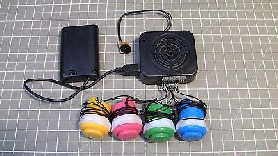 4-BUTTON USB SOUND BOX 200 sec device voice module music speaker talking loud