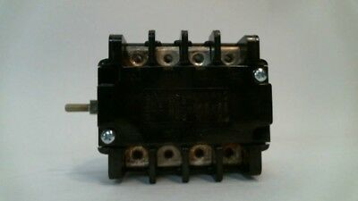 Electroswitch 700034k06 30 Amp 600vac 4 Position Rotary Auxiliary Switch 30a