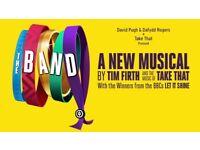 2 x The Band (take that ) theatre tickets Sat 11th Nov Southampton