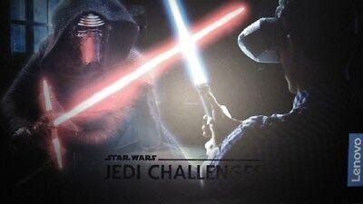 Lenovo Star Wars: Jedi Challenges AR  w/ Lightsaber Controller & Beacon