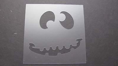 Stencil Halloween Crazy Face Art Paint Quilt Pumpkin SIGN #111 Made in USA
