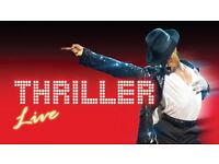Thriller Live the Musical - 2 fantastic seats