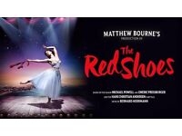 1x ticket Matthew Bourne's The Red Shoes @ Newcastle Theatre Royal - Saturday Matinèe 06/05/2017