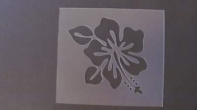 Трафареты STENCIL Hibiscus Flower Quilting Art