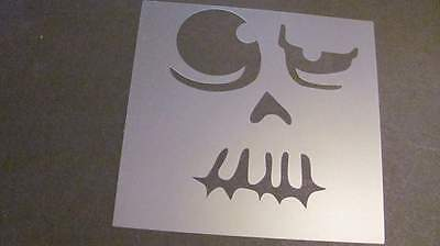 Halloween Font Stencils (Stencil Halloween Pumpkin Face Airbrush Durable Reusable #100 Made in)