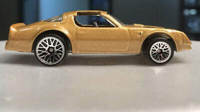 Hot Wheels Hot Bird Gold Lace Wheels 1996 Blister Pull Pontiac Firebird 1/64
