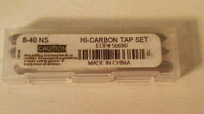 Viking Drill And Tool 56650 Type 723 Hi-carbon Plugtaperbottom Tap Bit Set...