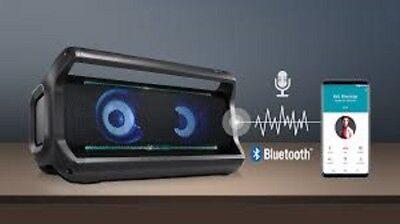 LG MDL PK7 Portable Loudr Bluetooth Party Speaker - Black