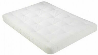 400 Futon (Queen Futon Mattress Serta Liberty 6 inch Thick Natural Cotton Cover Comfortable)
