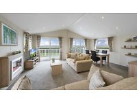 Luxurious 2 Bed lodge. situated looking over the solway firth with panoramic sea views