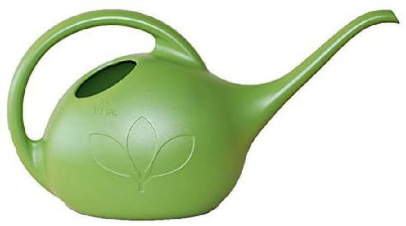 Novelty 30601 Indoor Watering Can 1/2 Gallon Green Plants Ga