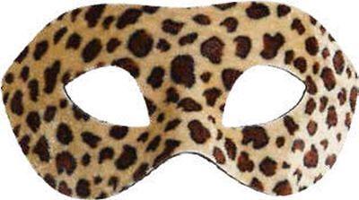 Orl - Augenmaske Leopard zum Kostüm Karneval Fasching Maskenball ()