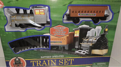 Train Set With Track Holiday Express Battery Operated 18pc toy,christmas,gift