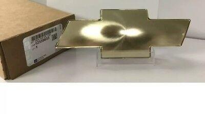 GM CHEVROLET BOW TIE GRILLE EMBLEM - SILVERADO TAHOE SUBURBAN 12335633 GRILL  Bow Tie Grill Emblem