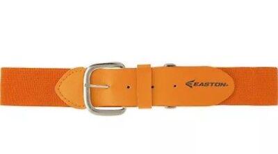 Gold Baseball Belt (Easton Adjustable Elastic Baseball Belt Softball - Gold (Orange) - YOUTH)