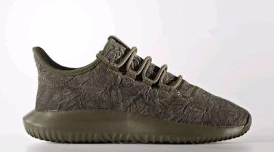 buy popular d8536 af9c8 Adidas Tubular Shadow Oxidized Shoes Youth Size 7 Big Kids Unisex Green  BY3538