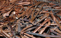 Scrap Metal Wanted Copper, Aluminum, Brass, Batteries & More