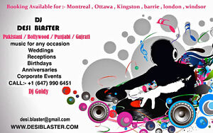 INDIAN DJ FOR ALL OVER CANADA