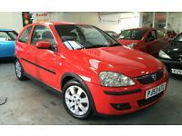 Vauxhall Corsa 1.4i 16v SXi 2003 + 12 Months M.O.T & Genuine Low Miles