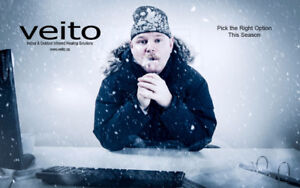Indoor Outdoor Heating Solution. The Veito Infrared way