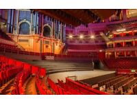 2 tickets for Beethoven's Ninth at the Albert Hall: 09-Oct-16