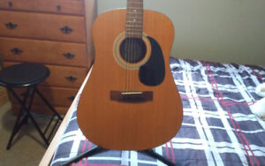 Samick dreadnaught acoustic guitar