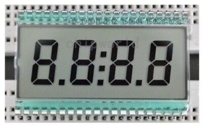 Xdc190 4 Digit 7 Segment Lcd Display Digital Clock Tube Static Driving 3v Tn Pin