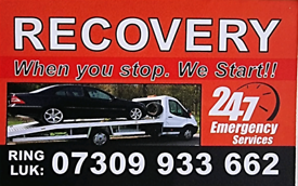 Emergency recovery services 24/7