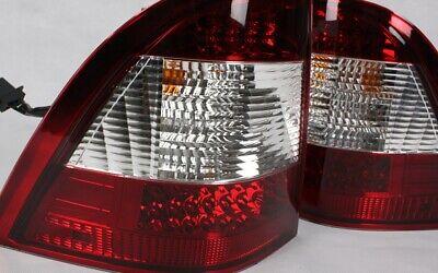LED RÜCKLEUCHTEN RÜCKLICHTER für MERCEDES W163 M-KLASSE 97-05 ROT KLAR CRYSTAL