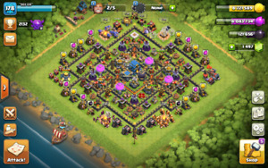 CLASH OF CLANS TOWNHALL 12 ACCOUNT