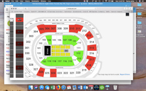Eagles tickets Rogers Arena May 10th