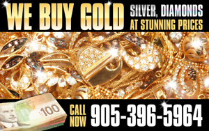 CASH FOR GOLD WE BUY JEWELLERY, WATCHES AND DIAMONDS-9053965964