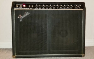 1978 Fender Super Twin Combo Amplifier -  Trade For A Guitar